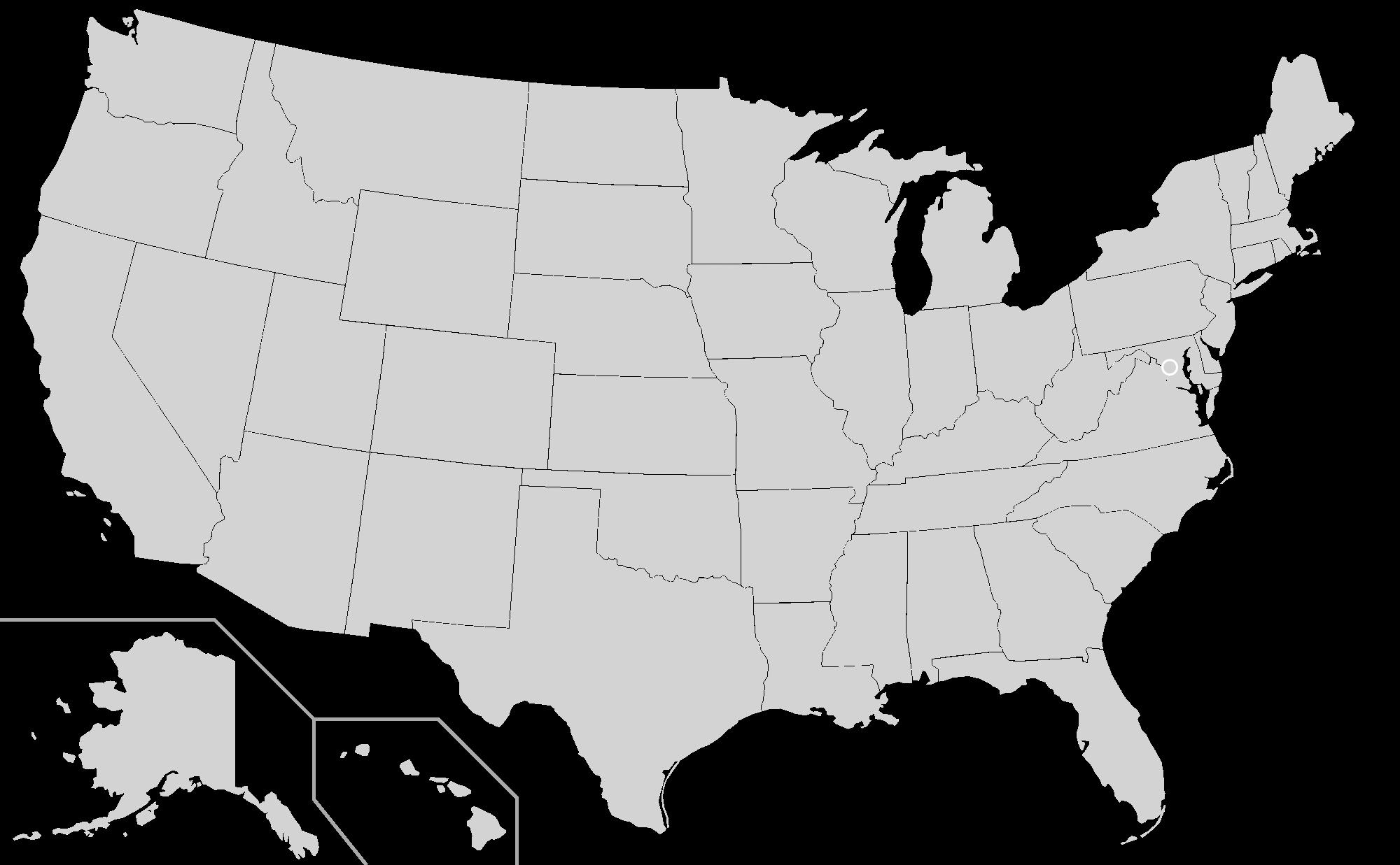 Towing in Baltimore Map